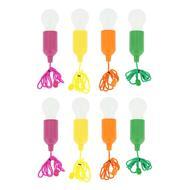 HANDY LUX - SET DE 8 AMPOULES COLOREES